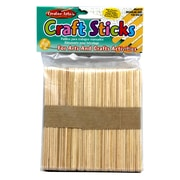"Charles Leonard™ Regular (4 1/2"" x 3/8"") Craft Sticks, Natural, 150/Pack"