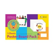 Roselle 11 x 14 4-Ply 5-Sheet Poster Board, White