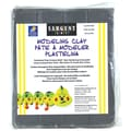 Sargent Art® 1 lbs. Plastic Solid Color Modeling Clay, Gray
