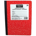 Sargent Art® 9.75in. x 7.5in. 100-Sheet Hard Cover Composition Book, Red