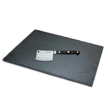 Swissmar® Slate Board and Cheese Knife Set