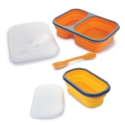 Swissmar® Pop 'N Go Collapsible Silicone Snack Boxes