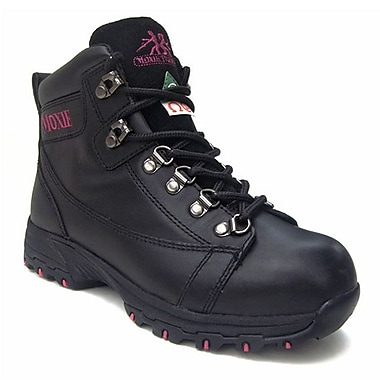 Moxie Trades Vegas Ladies Lightweight CSA/ESR Hiker Boots, Size 5, Black