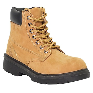 Moxie Trades Alice Ladies CSA/ESR Waterproof Industrial Work Boots, Size 6, Tan