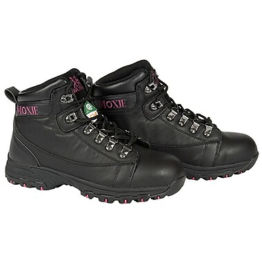 Moxie Trades Vegas Ladies Lightweight CSA/ESR Hiker Boots, Black
