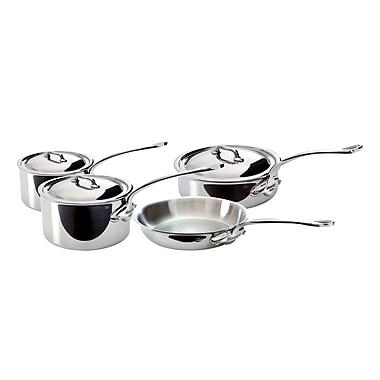Mauviel® M'Cook 7-Piece Stainless Steel Starter Set