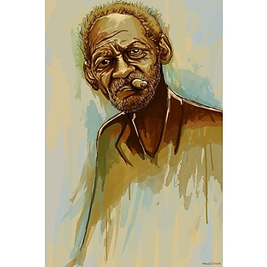 Maxwell Dickson Cigar Painting Print on Wrapped Canvas; 30'' H x 20'' W