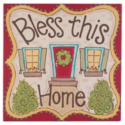 Glory Haus Bless This Home Graphic Art on Canvas
