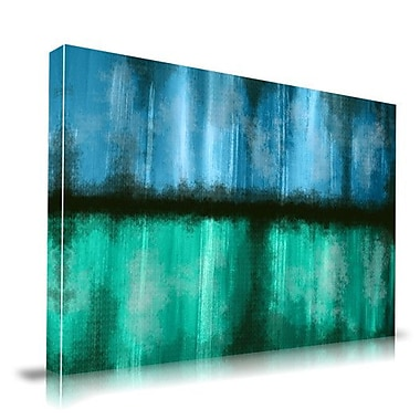 Maxwell Dickson Rain Mist Painting Print on Wrapped Canvas; 20'' H x 30'' W