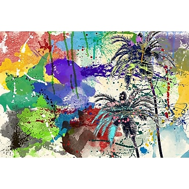 Maxwell Dickson 'California Breeze' Painting Print on Canvas; 40'' H x 60'' W