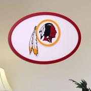 Fan Creations NFL Logo Textual Art Plaque; Washington Redskins