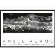 Frames By Mail 'Range Clouds' by Ansel Adams Framed Photographic Print