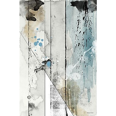 Maxwell Dickson ''Faded Colors'' Painting Print on Wrapped Canvas; 24'' H x 36'' W