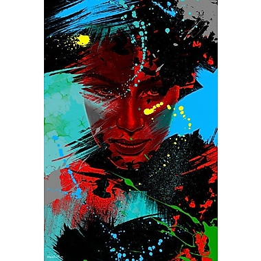 Maxwell Dickson Living Color Painting Print on Wrapped Canvas; 36'' H x 24'' W