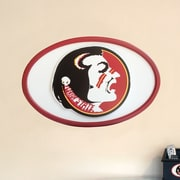 Fan Creations NCAA Logo Textual Art Plaque; Florida State