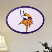 Fan Creations NFL Logo Graphic Art Plaque; Minnesota Vikings