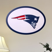Fan Creations NFL Logo Graphic Art Plaque; New England Patriots