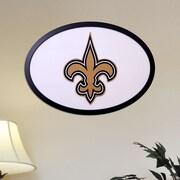 Fan Creations NFL Logo Graphic Art Plaque; New Orleans Saints