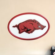 Fan Creations NCAA Logo Textual Art Plaque; Arkansas