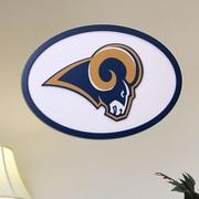 Fan Creations NFL Logo Graphic Art Plaque; St. Louis Rams