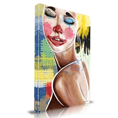 Maxwell Dickson Tears of a Clown Painting Print on Wrapped Canvas; 20'' H x 16'' W