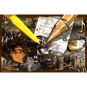 Maxwell Dickson Creativity Furniture Graphic Art on Canvas; 16'' H x 20'' W