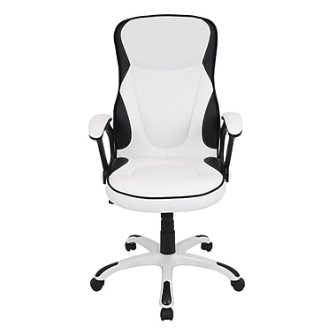 LumiSource Storm Executive Office Chair; White