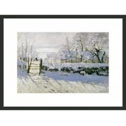 Frames By Mail 'The Magpie' by Claude Monet Framed Painting Print