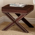 Abbyson Living Monica Pedersen Collection Capri Stool; Chocolate