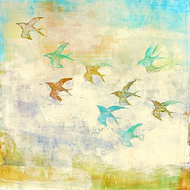 Evive Designs Oiseaux 1 by Maeve Harris Painting Print