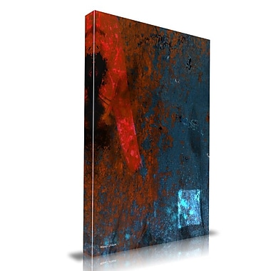 Maxwell Dickson Strike Original Painting Print on Wrapped Canvas; 24'' H x 18'' W
