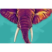 Maxwell Dickson Elephant in The Room Painting Print on Canvas; 24'' H x 36'' W