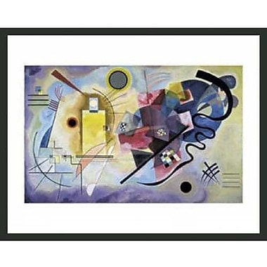 Frames By Mail Kandinsky by Wassily Kandinsky Framed Graphic Art