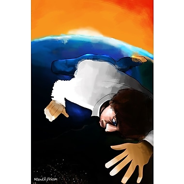 Maxwell Dickson Earth Guy Painting Print on Wrapped Canvas; 24'' H x 18'' W