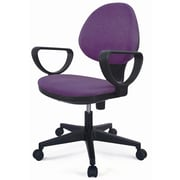 New Spec E Fabric Task Chair; Purple