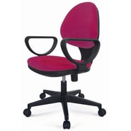 New Spec E Fabric Task Chair; Wine