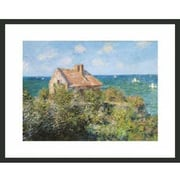Frames By Mail 'Cottage on the Cliffs at Varengeville' by Claude Monet Framed Painting Print