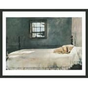 Frames By Mail 'Master Bedroom' by Andrew Wyeth Framed Painting Print