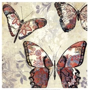 Evive Designs Patterned Butterflies I by Asia Jensen Painting Print