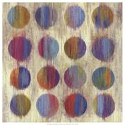 Evive Designs Ikat Dots II Aimee Wilson Painting Print