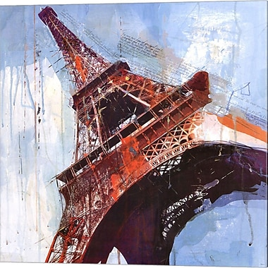 Evive Designs Lost in Paris by Markus Haub Graphic Art on Wrapped Canvas