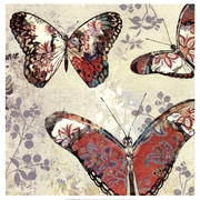 Evive Designs Patterned Butterflies II by Asia Jensen Painting Print