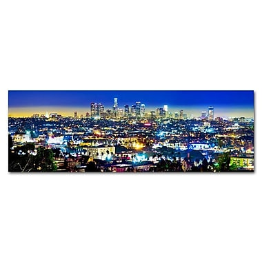 Great Big Photos City of Angeles Photographic Print on Canvas