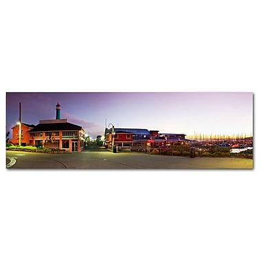 Great Big Photos Fishermans Wharf Photographic Print on Canvas