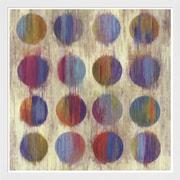 Evive Designs Ikat Dots II Aimee Wilson Framed Painting Print