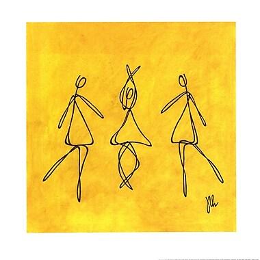 Evive Designs Joy - Dancers by Joyce McAndrews Graphic Art