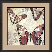 Evive Designs Patterned Butterflies I by Asia Jensen Framed Painting Print