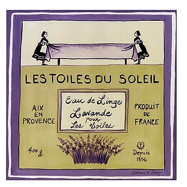 Evive Designs Les Toiles Du Soleil by Katharine Gracey Vintage Advertisement