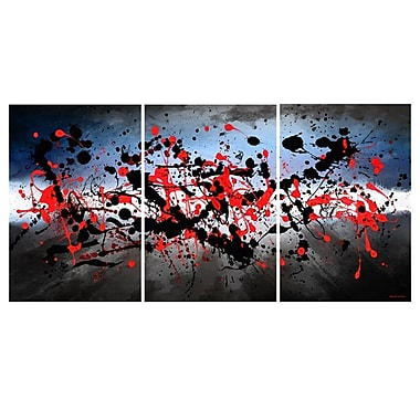 Maxwell Dickson Beautiful Mind 3 Piece Graphic Art on Canvas Set