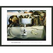 Frames By Mail 'Apparition of Face and Fruit Dish on Beach' by Salvador Dali Framed Painting Print
